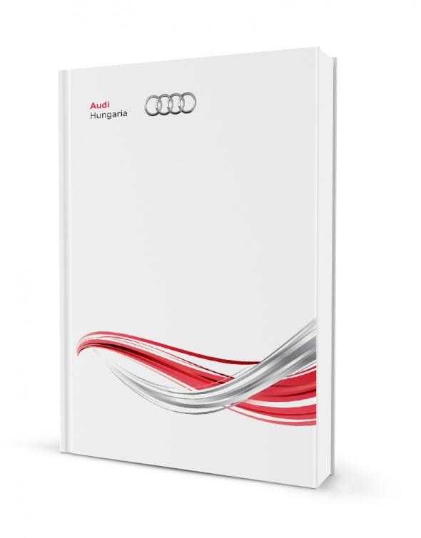 Audi sajtó mappa tervezés