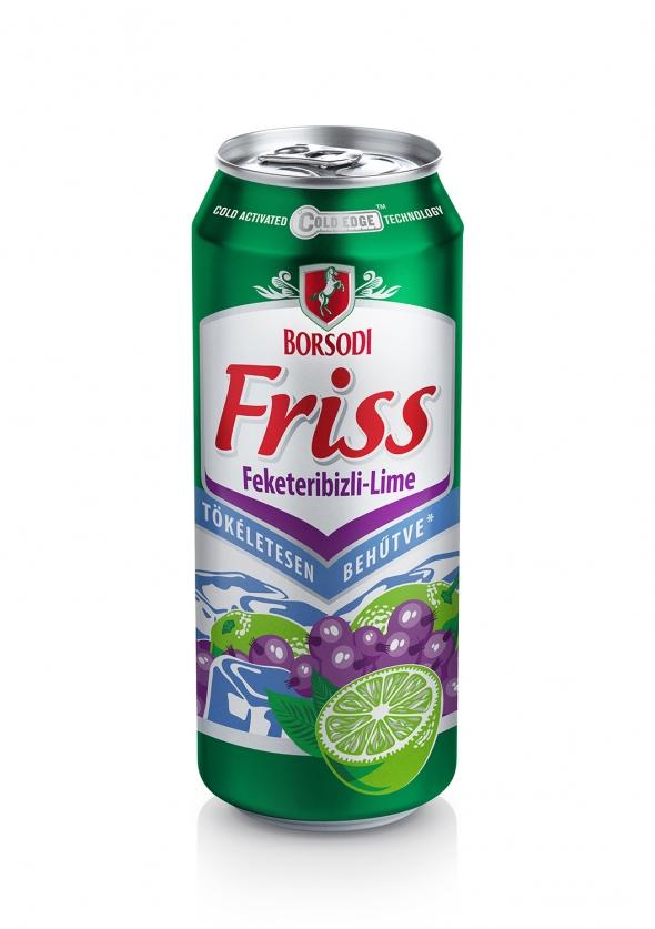 Borsodi Friss Feketeribizli-Lime