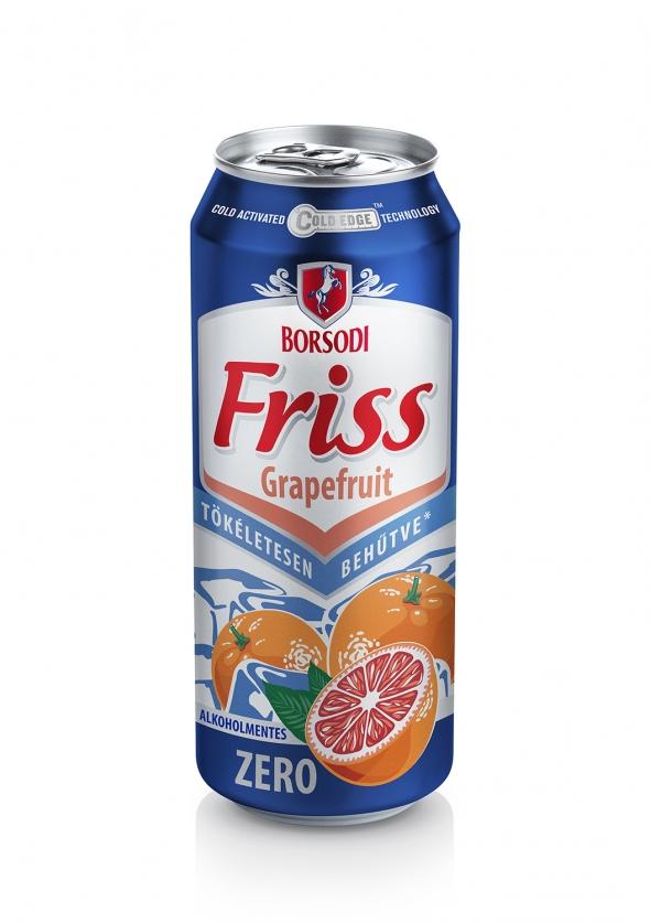 Borsodi Friss Grapefruit Zero