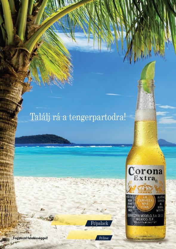 Corona Extra plakát