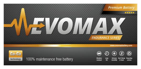 EvoMax Battery chime tervezés