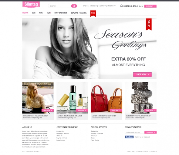 Weboldal tervezés