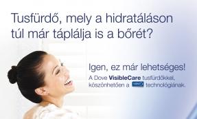 Dove Visible Care hirdetés tervezés