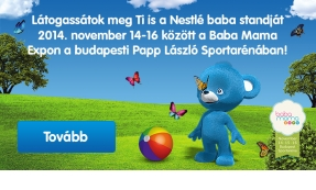 Nestlé banner tervezés
