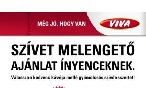 ÖMV - Viva shop plakát tervezés