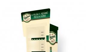 Staropramen hűtő display tervezés
